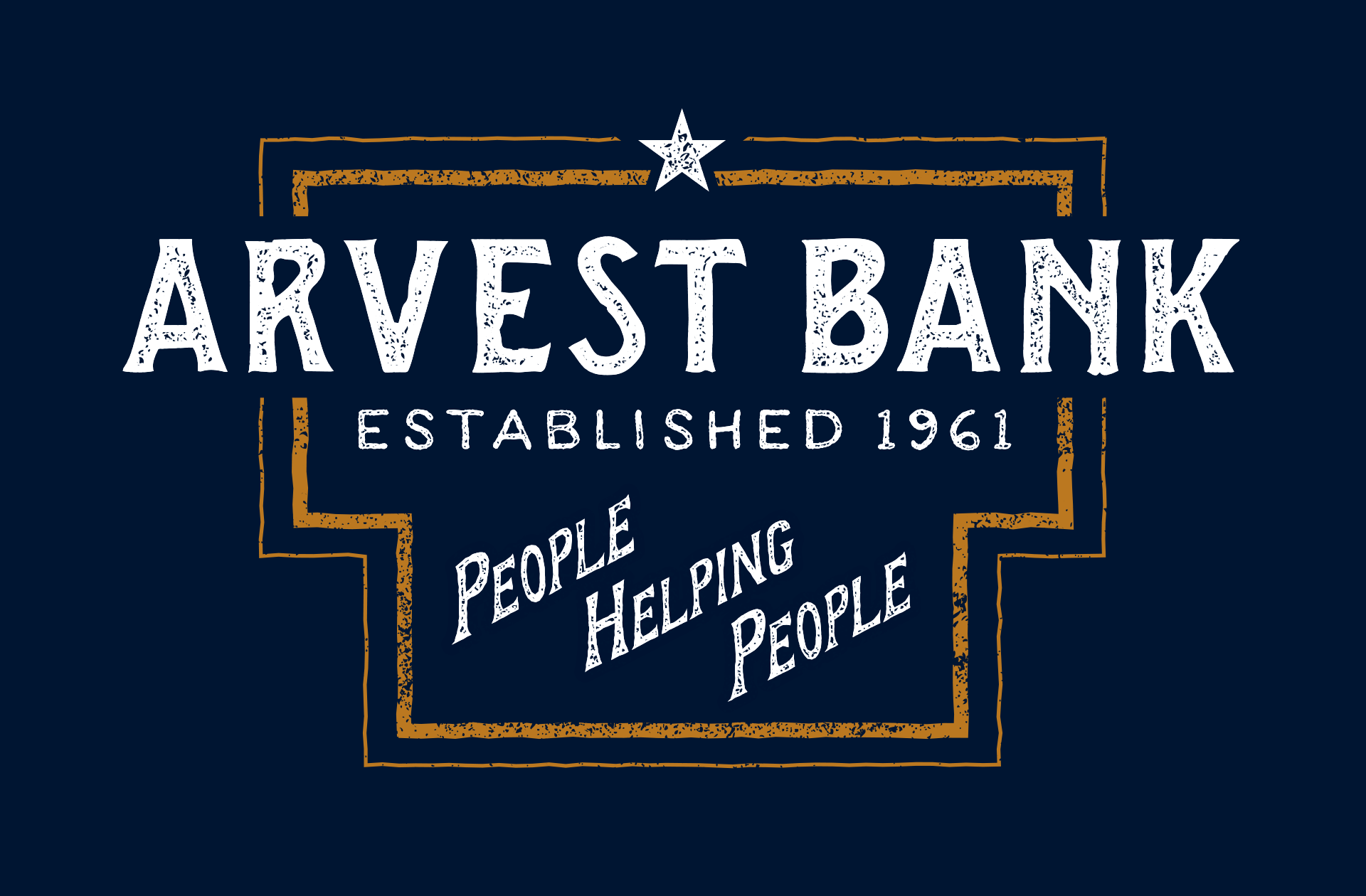 sam broom arvest bank graphic design lettering vintage americana arkansas designer texture samuel broom