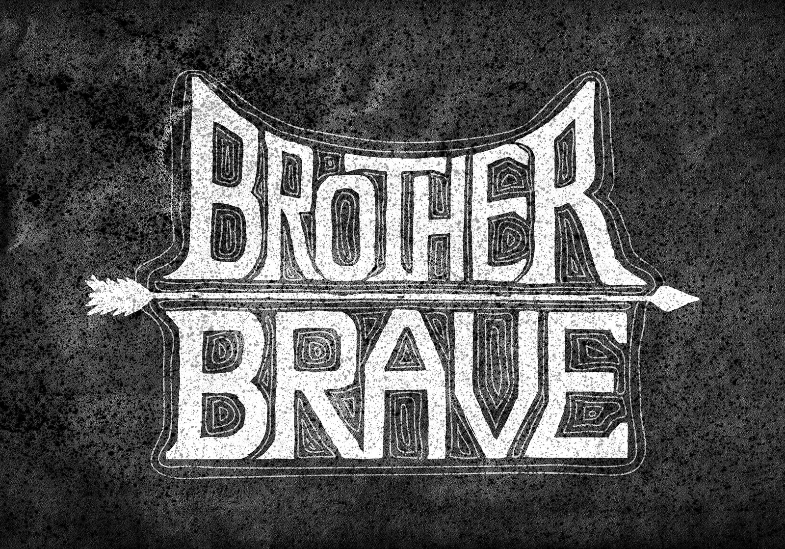 sam broom brother brave illustration hand lettering graphic design coveted crew clothing company