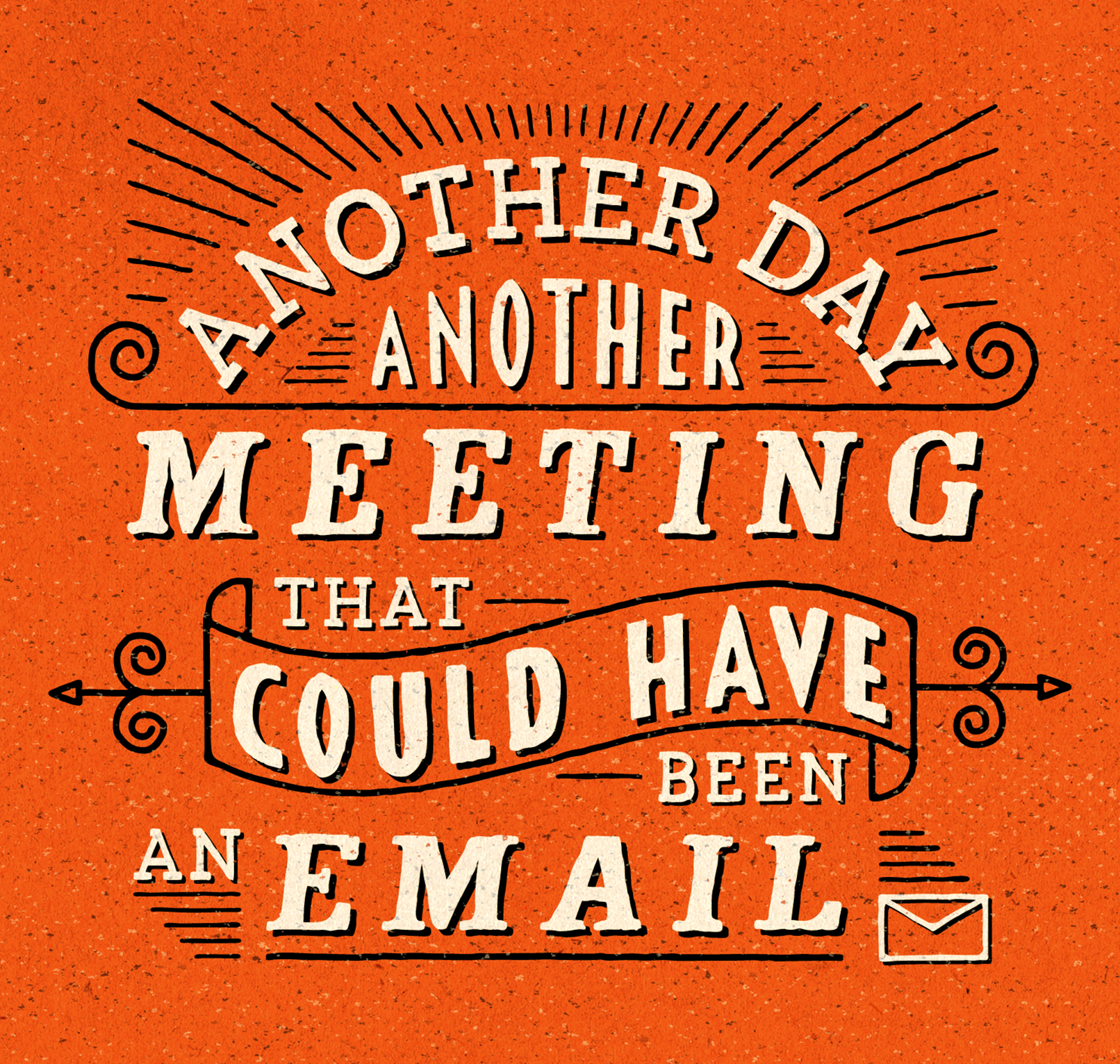 sam broom hand lettering graphic design illustration meeting email