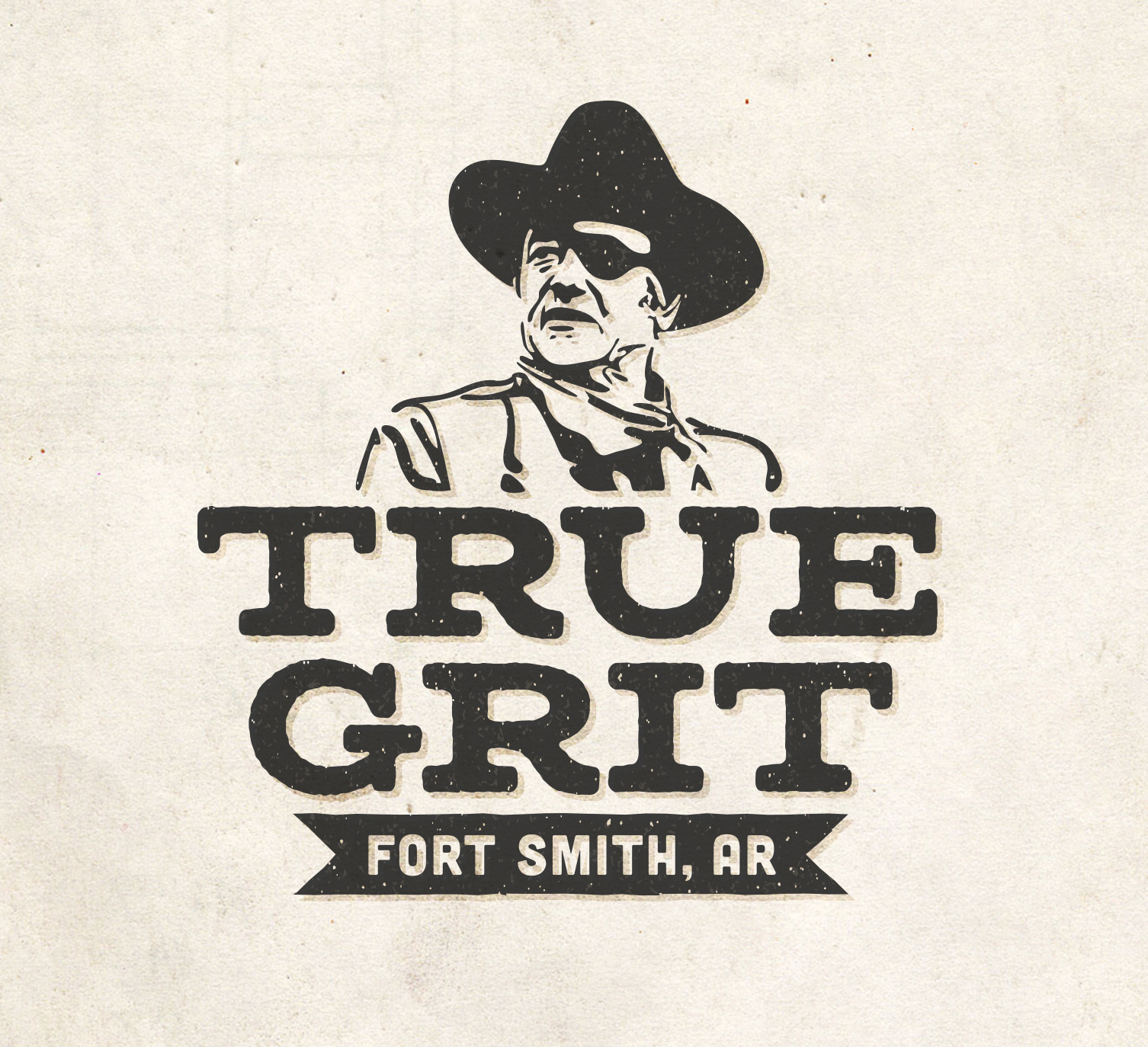 Sam Broom True Grit Fort Smith Arkansas Cintas logo logotype graphic design illustration